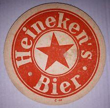 ANCIEN SOUS BOCK - HEINEKEN'S BIER - C-H - EPAIS - 2 FACES ROUGE/ROUGE
