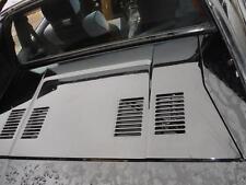 1985-1989 Toyota MR2 - Engine Lid / Cover - Black - 4AGE