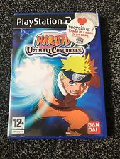 Naruto Uzumaki Chronicles Com Playstation 2 ps2 PAL VGC