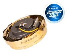 NRG Steering Wheel Quick Release Thin Version Chrome gold SRK-400CG