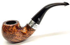 Peterson Kildare Sterling Silver Mounted Apple Bent Pipe with Free Pipe Tool(03)