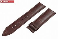 Fits SEIKO Dark Brown Genuine Leather Watch Strap Band For Buckle Clasp 12-24mm