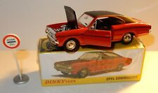 DINKY ATLAS OPEL COMMODORE REF 1420 + PANNEAU DOUANE 1/43 in box