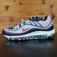 "Nike Air Max 98 ""NYC"" New York City White Crimson Rare CK0850-100 Mens Shoes"