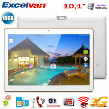 """16GB 10.1"""" POLLICI QUAD CORE ANDROID Tablet PC 3G WiFi SMARTPHONE Dual SIM PAD"""