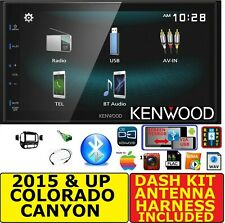 15 &UP CHEVY COLORADO GMC CANYON  JVC-KENWOOD BLUETOOTH USB CAR RADIO STEREO PKG