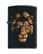Zippo 218 Lion in the Night Barrett Smythe Collection Lighter RARE