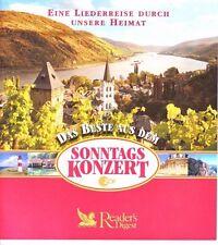 Das Beste aus dem ZDF - Sonntagskonzert   Reader's Digest  4 CD Box  OVP