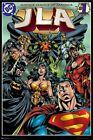 JUSTICE LEAGUE ART POSTER ~ #1 JLA 22x34 DC Comic Book America Batman Superman