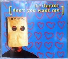 "The Farm - Don't You Want Me CD Single (CD 1992) + ""Groovy Train"" Remix"