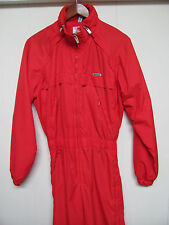 Descente Snow Suit - Bright Red - Side Zips from Neck to Hem - Size Men's XS