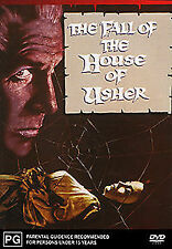 The Fall Of The House Of Usher (1960) DVD - REMASTERED COLOUR - ALL REG