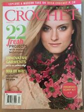 Interweave Crochet 22 Projects Irish Dogwood Scarf Spring 2015 FREE SHIPPING!