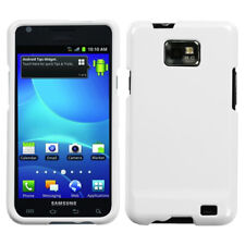 For AT&T Samsung Galaxy S II 2 HARD Protector Case Snap On Phone Cover White