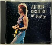 JEFF BECK Beckology - The Sampler RARE RADIO PROMO CD (1991 EPIC) Rock Guitarist