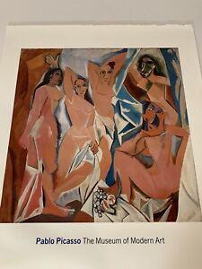 PICASSO Art Poster | Les Demoiselles d'Avignon | Museum of Modern Art NY | 2007