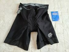 Troy Lee Designs Cycling Bib Shorts Men's Size 34 MTB Black padded NWT