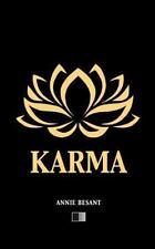 Karma (Edici?n en Espa?ol): By Besant, Annie Terrer, Federico