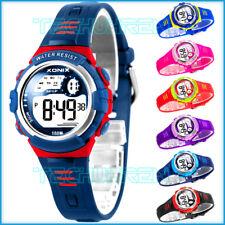 Geschenkidee XONIX Damen/Kinder Armbanduhr WR100m viele Funktionen