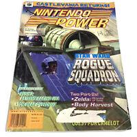 Nintendo Power Magazine Volume 115 Star Wars Rogue Squadron 64 + Tank Poster N64