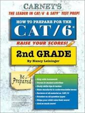 How to Prepare for the CAT/6 2nd Grade by Leininger, Nancy