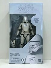"Star Wars TBS 6"" First Order Jet Trooper (Carbonized Graphite) (MISB)"