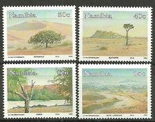 Namibia - Ansichten der Namibwüste Satz 1993 postfrisch Mi.Nr. 743-746