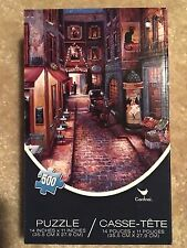 Brand New Jigsaw Puzzle Old City Horse and Buggy 500 piece 14 x 11 inches