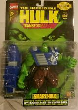 Hulk: Transformations Smart Hulk w/Gamma Blaster Power Pack Toy Biz 1997