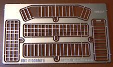 DM157 - [1:24] Sprint Car Rock Guards - Stainless Steel
