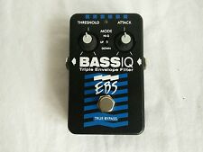 EBS Bass IQ - Bass Envelope Filter Auto Wah Analog Effect Pedal with box
