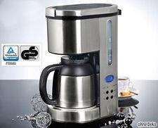 + Kaffeemaschine Thermo-Kaffeeautomat mit 24-Std Timer Thermoskanne Edelstahl +
