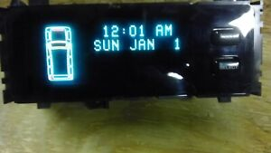 1996 - 1998 Jeep Grand Cherokee ZJ Vehicle Information Center VIC Display