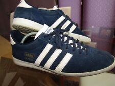 Adidas GAZELLE Trainers Suede Leather Size UK 9 - Art: Q21600 - 04/2015