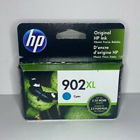 New HP 902XL High-Yield Cyan Ink Cartridge (T6M02AN#140) Expiration 12/2022