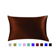 Jasmine Silk Single Pure silk pillowcase Silk Chocolate