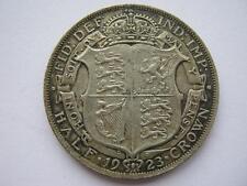 1923 silver Halfcrown, NEF.