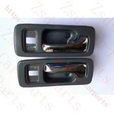4PCS Car Chrome Inside Interior Door Handle Trim for Honda Accord 1990 -1991 CB7