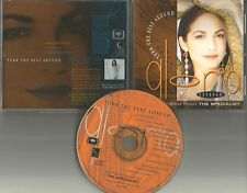 GLORIA ESTEFAN Turn the Beat Around 7 INCH REMIX & Single Version PROMO DJ CD
