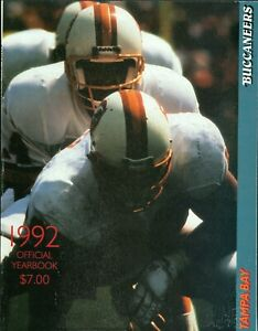 1992 Tampa Bay Buccaneers Yearbook: Vinny Testaverde, Jesse Solomon