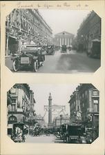 France, Paris, pendant le séjour de roi Georges V et la reine d'Angleterre