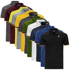 Polo K-Way Vincent Contrast Slim Fit maglia manica corta uomo K008J50