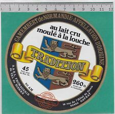 J153  FROMAGE CAMEMBERT VAL DE SIENNE GAVRAY MANCHE 260 GR.