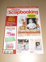 SCRAPBOOKING Création scrapbooking N°29 juillet 2010