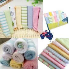 Baby Face Washers Hand Towels Cotton Wipe Wash Cloth Baby Nursing Towel 8pcs