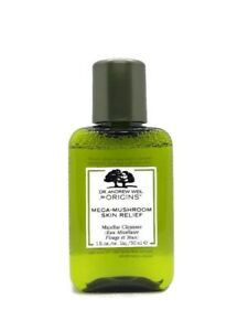 Origins Dr Weil Mega Mushroom Skin Relief Micellar Cleanser, Travel Size: 30 ml
