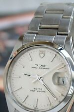 Rolex Tudor Prince OysterDate Vintage SS Mens Pre-Owned Watch....34mm