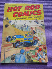 HOT RODS COMICS 1952 VOLUME 1 #6 RACING CARS 1932 Ford TRACK ROADSTER BELLY TANK