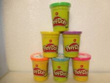 6 Becher Play-Doh Knete, je 112 Gramm Neu in OVP