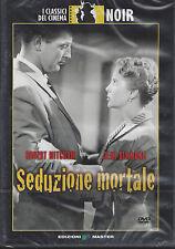 Dvd **SEDUZIONE MORTALE** con Robert Mitchum nuovo sigillato 1953